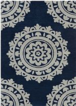 FaveDecor Transitional Cooross Area Rug Collection