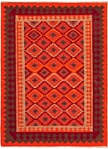 Rectangle Area Rug, Flat Woven Rug, Southwestern/Lodge, Anatolia, Jaipur Rug