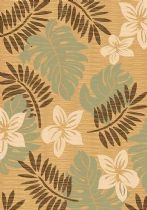 Rugs America Contemporary Tropics Area Rug Collection