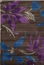 Rugs America Transitional Lotus Area Rug Collection