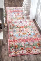 NuLoom Country & Floral Floral Oriental Mabelle Area Rug Collection