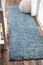 NuLoom Natural Fiber Chunky Loop Jute Area Rug Collection
