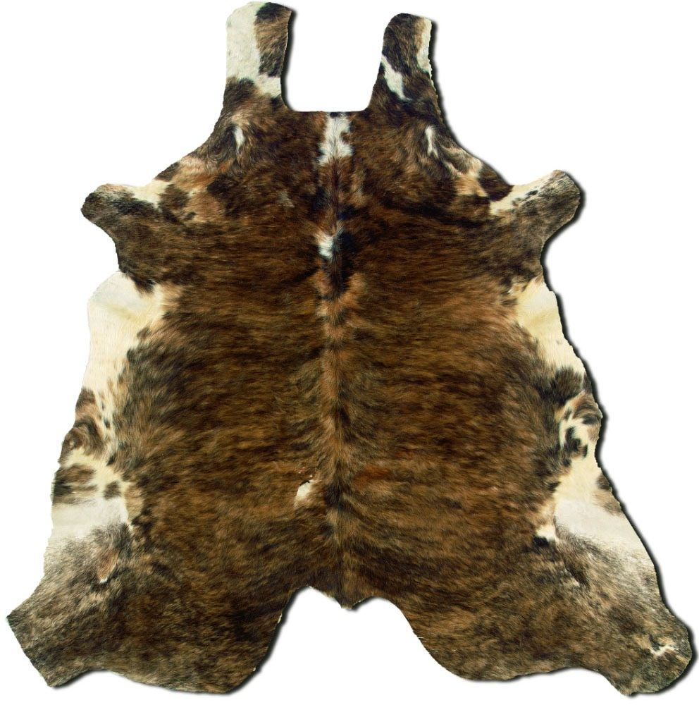 linon cowhide animal inspirations area rug collection