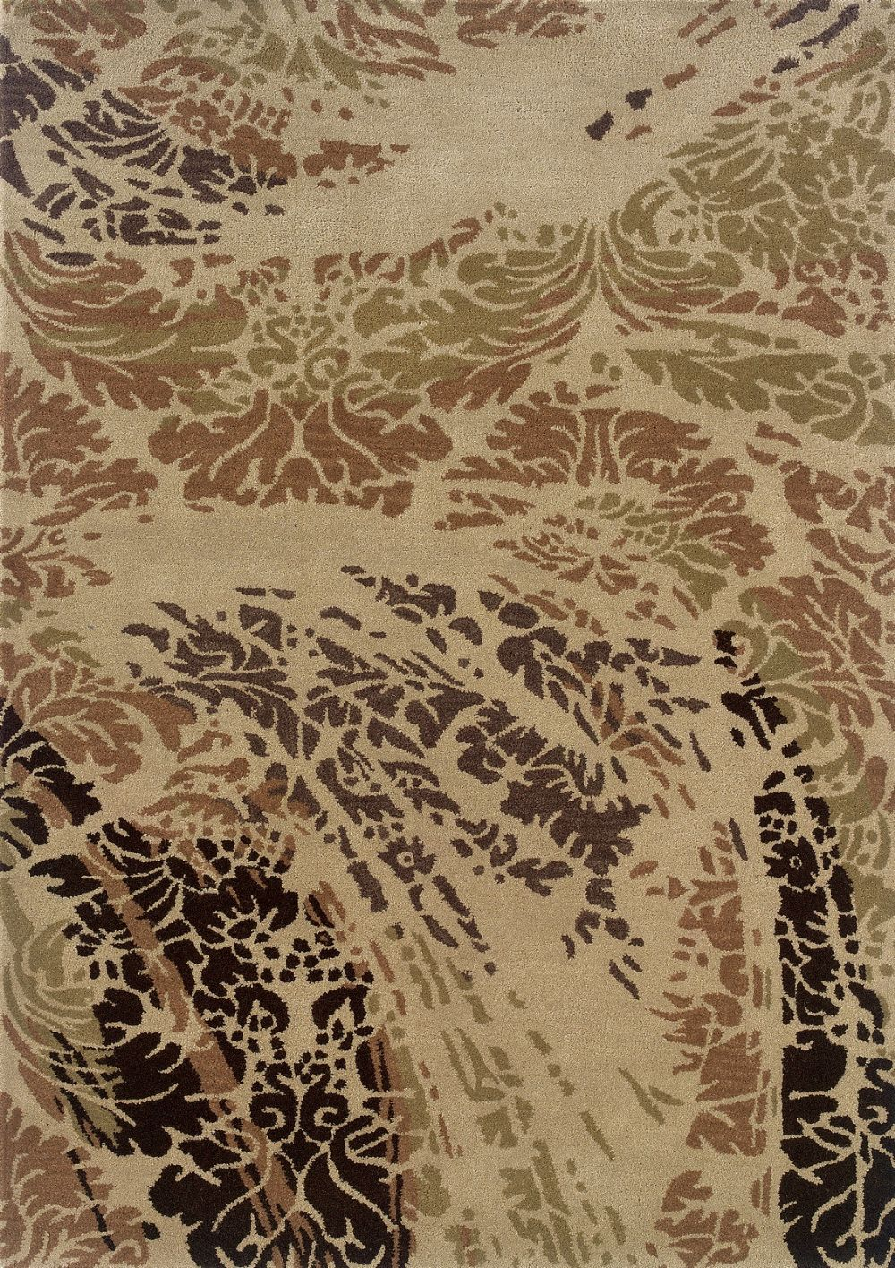 linon florence contemporary area rug collection