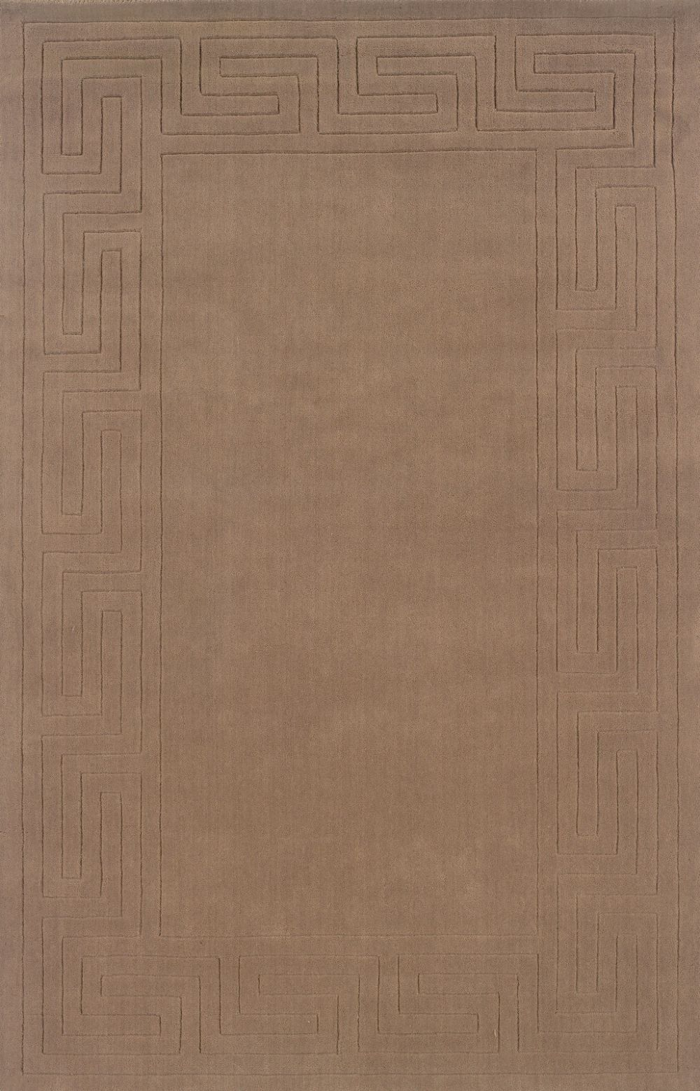 linon classic solid/striped area rug collection