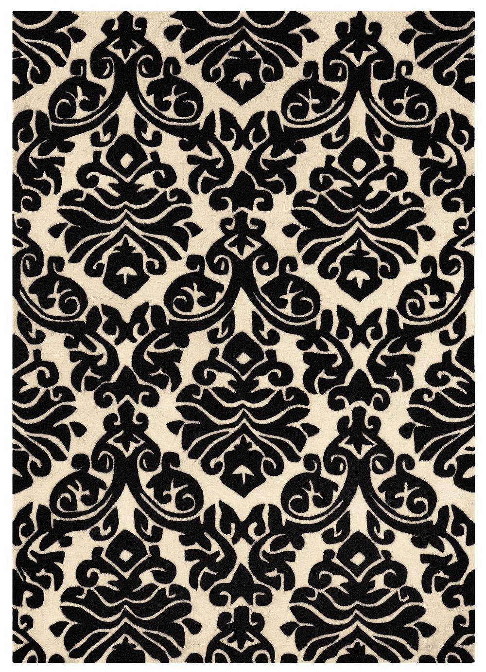 linon trio contemporary area rug collection