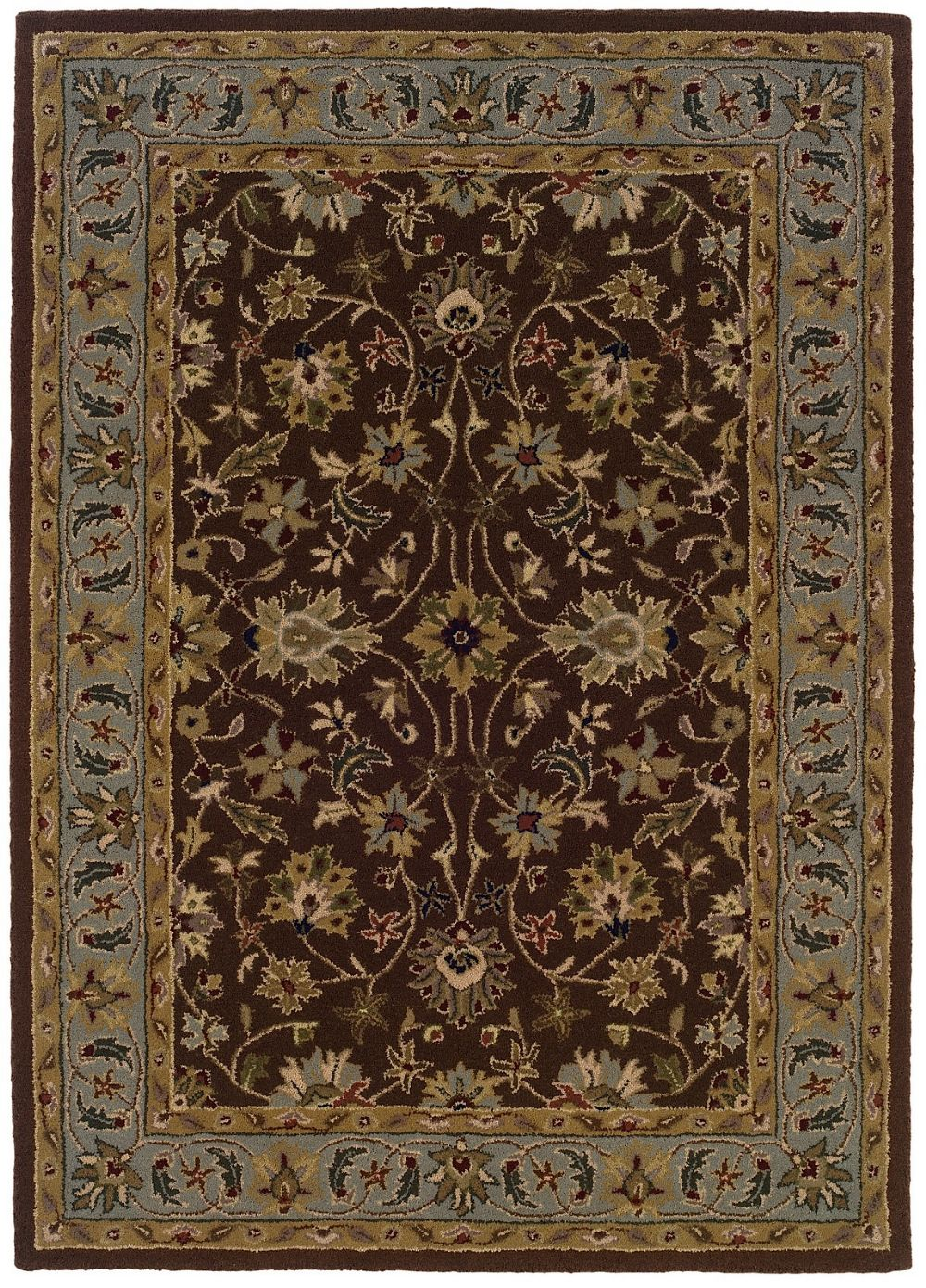 linon trio transitional area rug collection