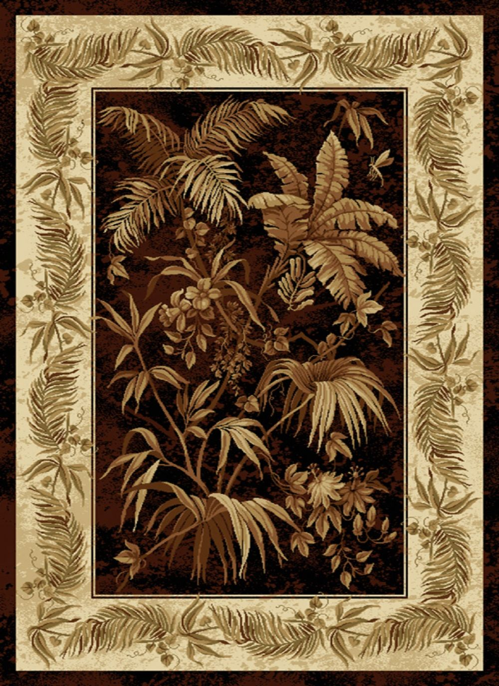 united weavers china garden country & floral area rug collection