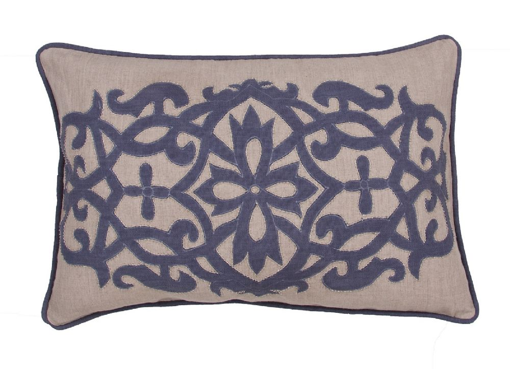 jaipur inspired country & floral decorative pillow collection