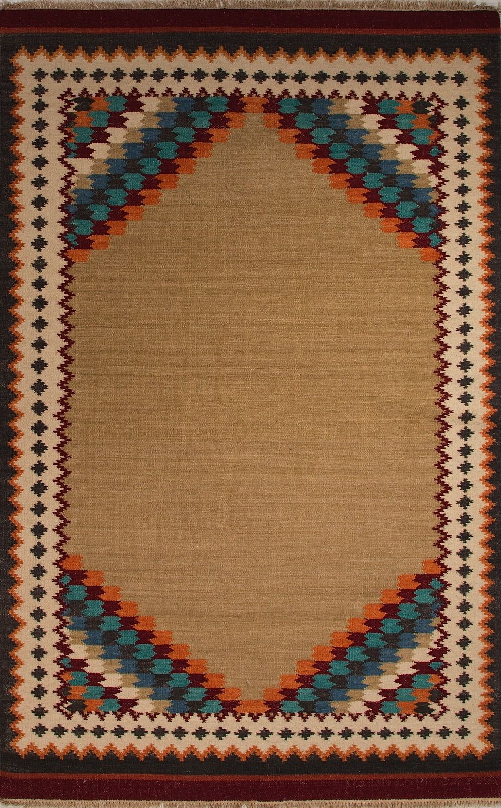 jaipur anatolia solid/striped area rug collection