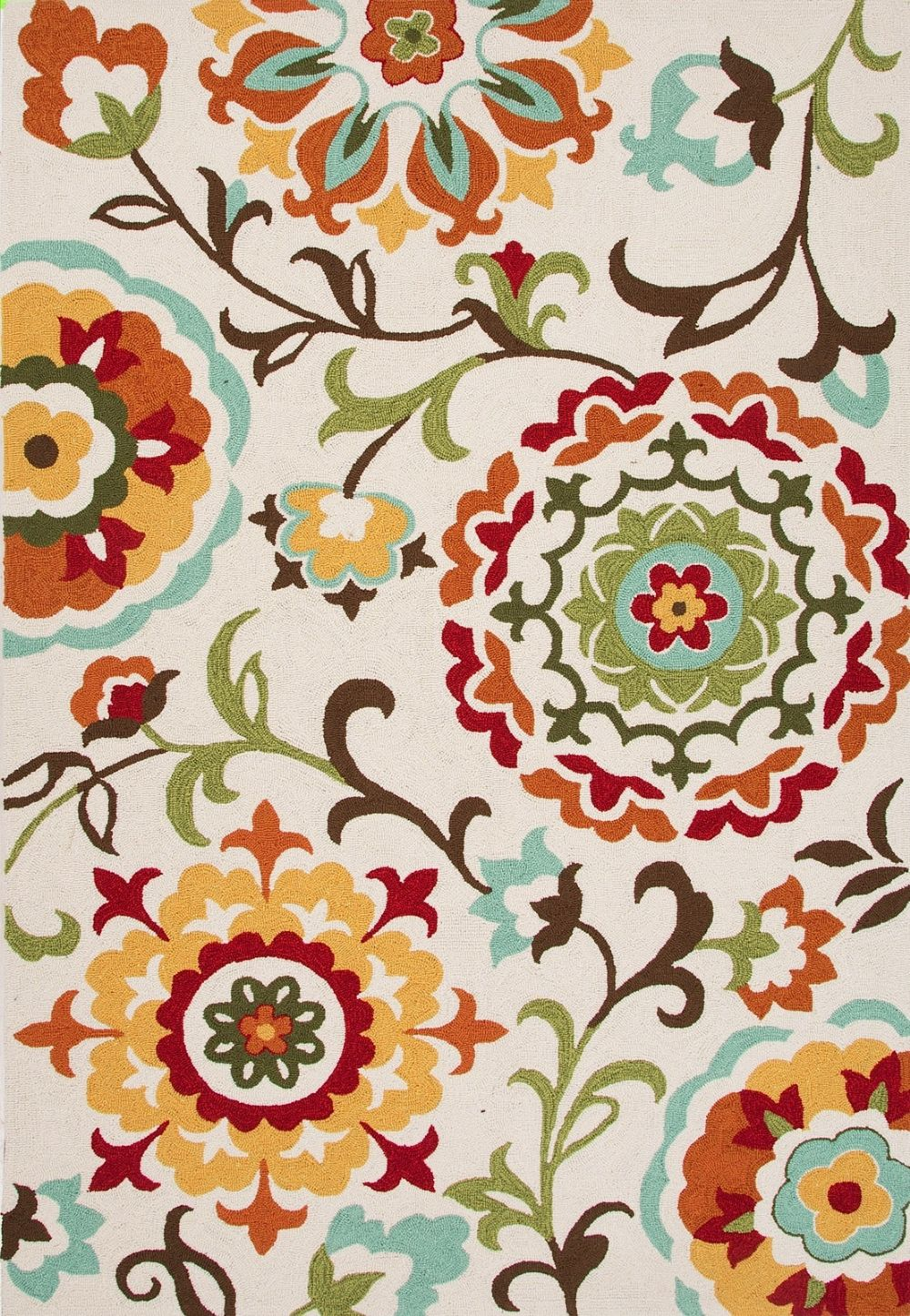 jaipur blossom transitional area rug collection