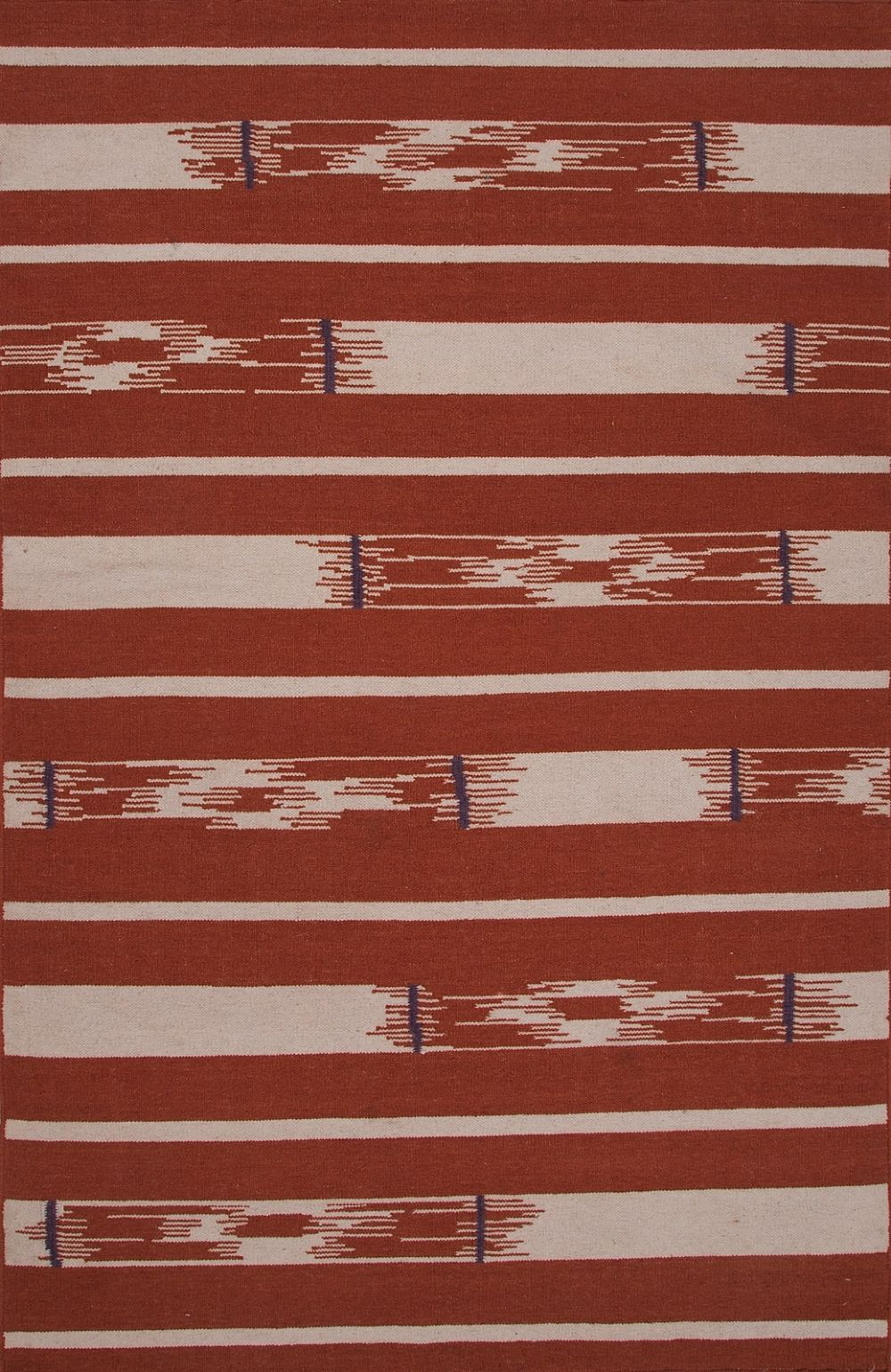 jaipur traditions made modern flat weave solid/striped area rug collection