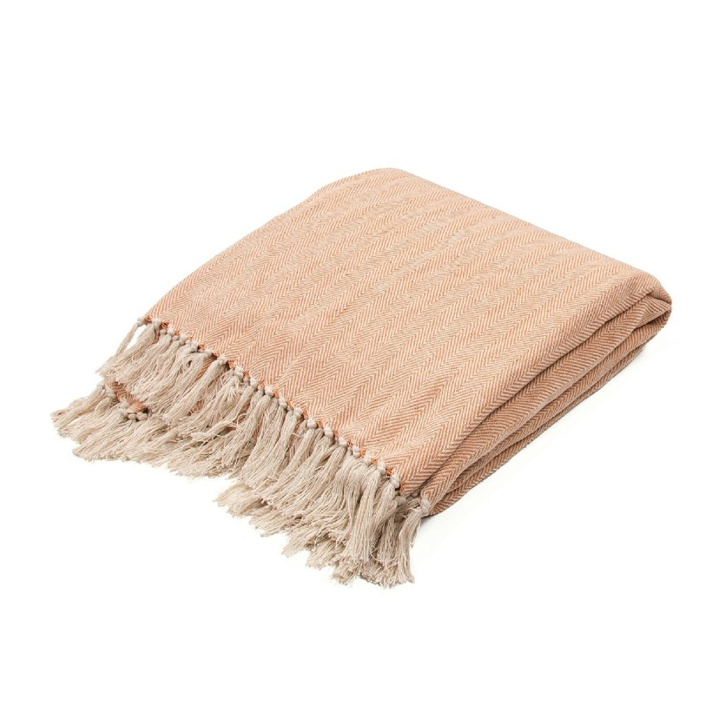 jaipur seabreeze solid/striped throw collection