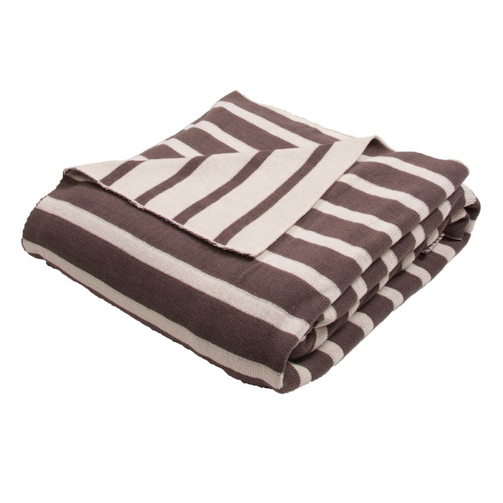 jaipur trinity solid/striped throw collection