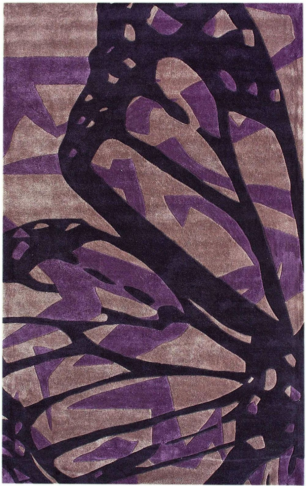 nuloom butterfly contemporary area rug collection
