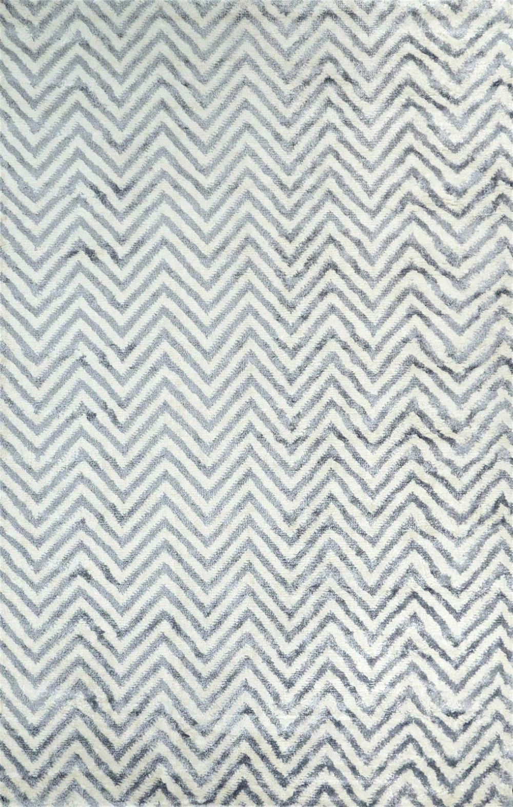 nuloom luxurious viscose chevron kelli contemporary area rug collection