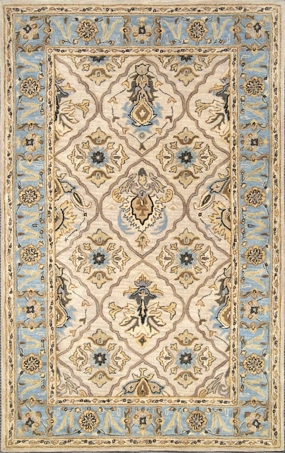 nuloom dynasty transitional area rug collection