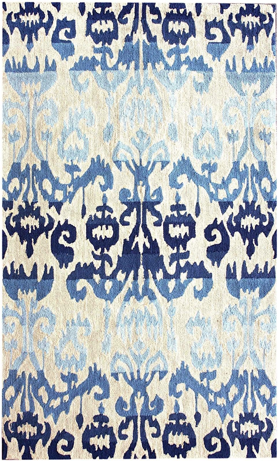 nuloom ikat contemporary area rug collection