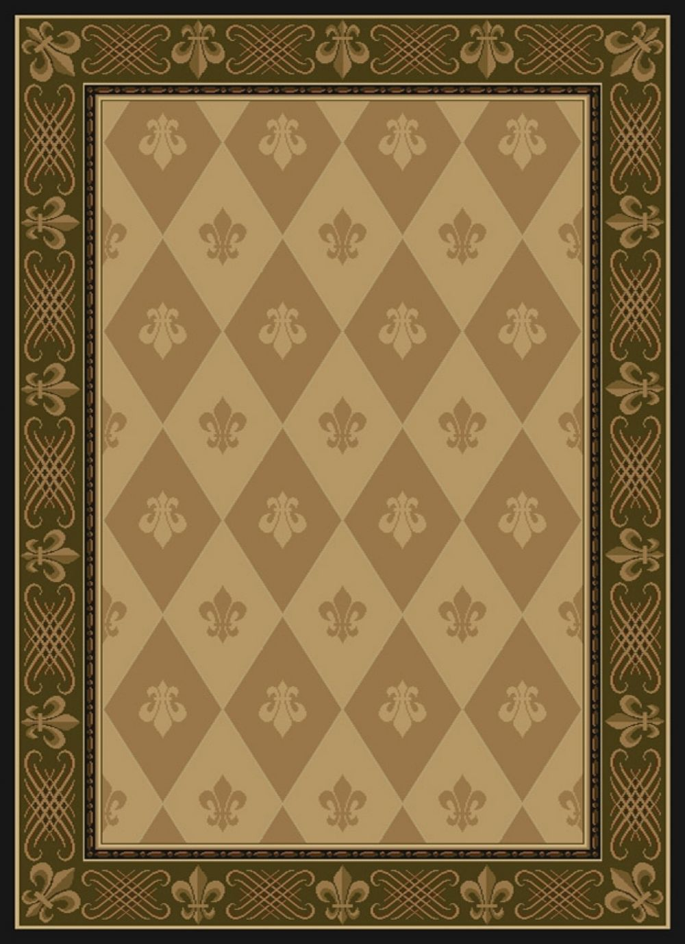 united weavers china garden transitional area rug collection