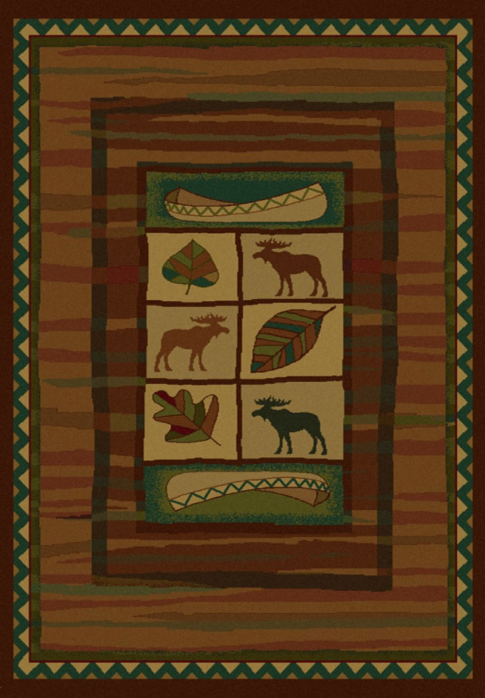 united weavers genesis southwestern/lodge area rug collection