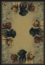 Rectangle Area Rug, Machine Made Rug, Other, Hautman, United Weavers Rug