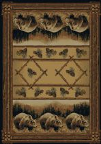 United Weavers Southwestern/Lodge Hautman Area Rug Collection