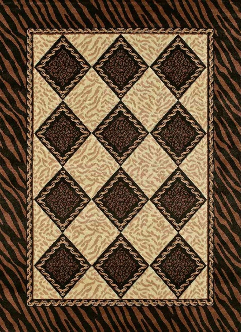 united weavers urban trends animal inspirations area rug collection