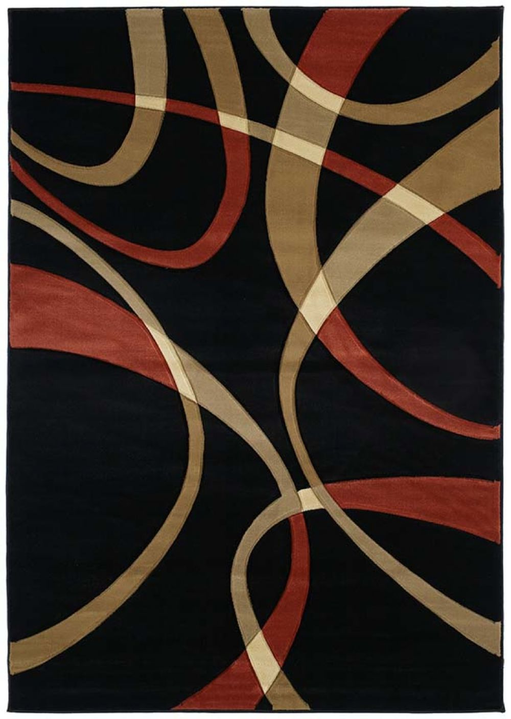 united weavers contours contemporary area rug collection