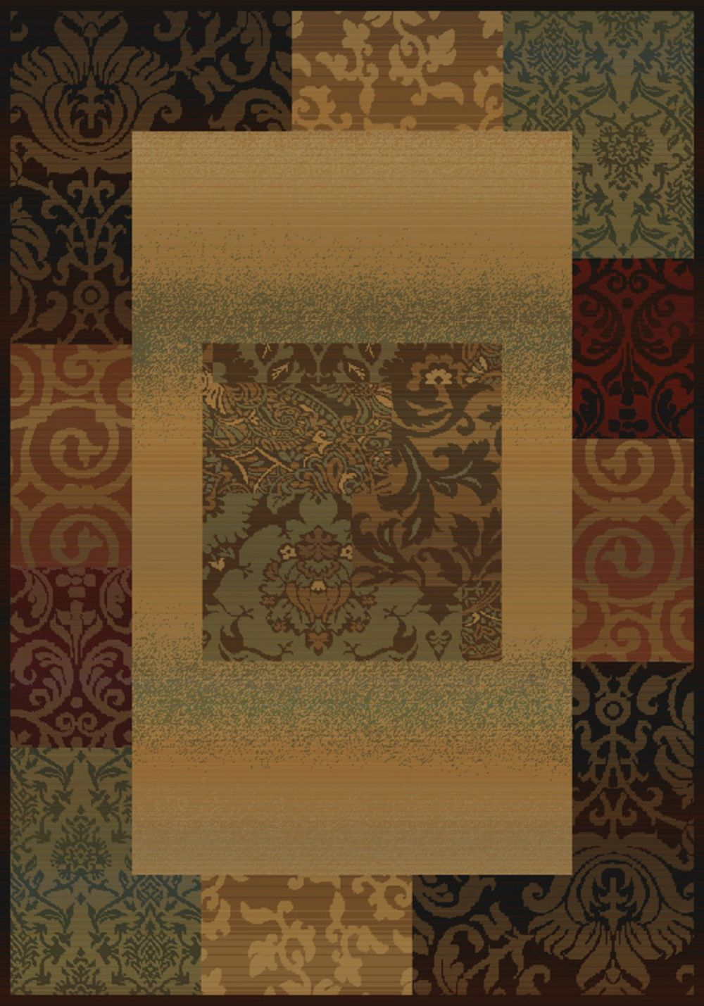 united weavers horizons contemporary area rug collection