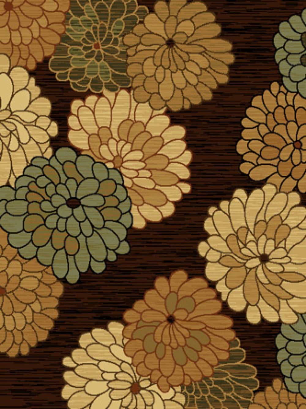 united weavers traces country & floral area rug collection