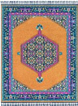 PlushMarket Traditional Orhaneli Area Rug Collection