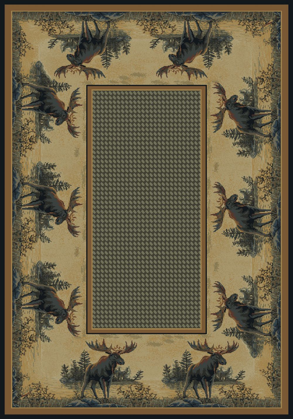 united weavers hautman southwestern/lodge area rug collection