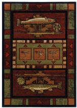 Rectangle Area Rug, Machine Made Rug, Other, Contours-Jq, United Weavers Rug