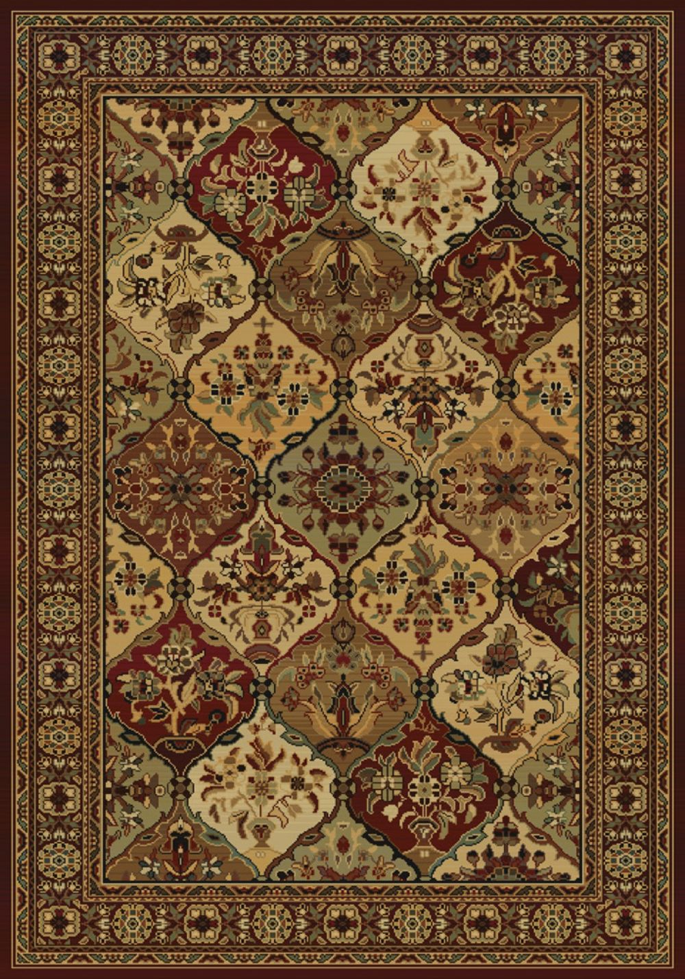 united weavers horizons traditional area rug collection