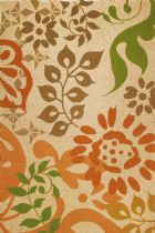 Homefires Country & Floral Global Fusion Area Rug Collection