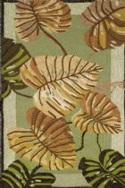 Homefires Country & Floral Philodendron Area Rug Collection