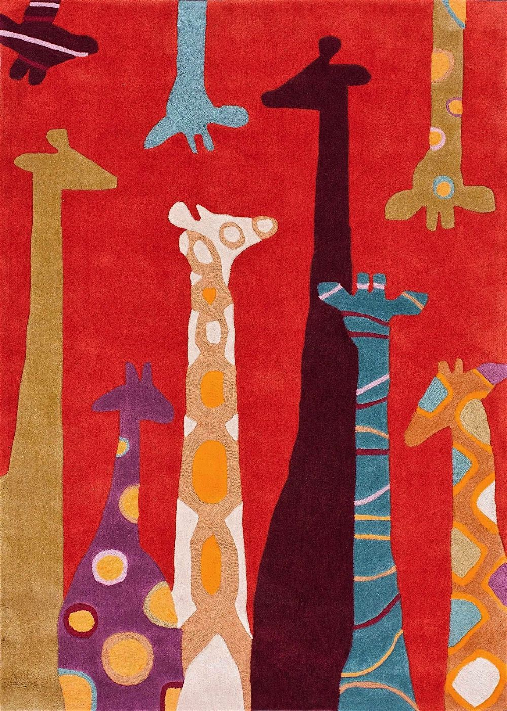 nuloom giraffe novelty area rug collection