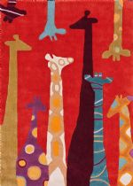 NuLoom Novelty Giraffe Area Rug Collection