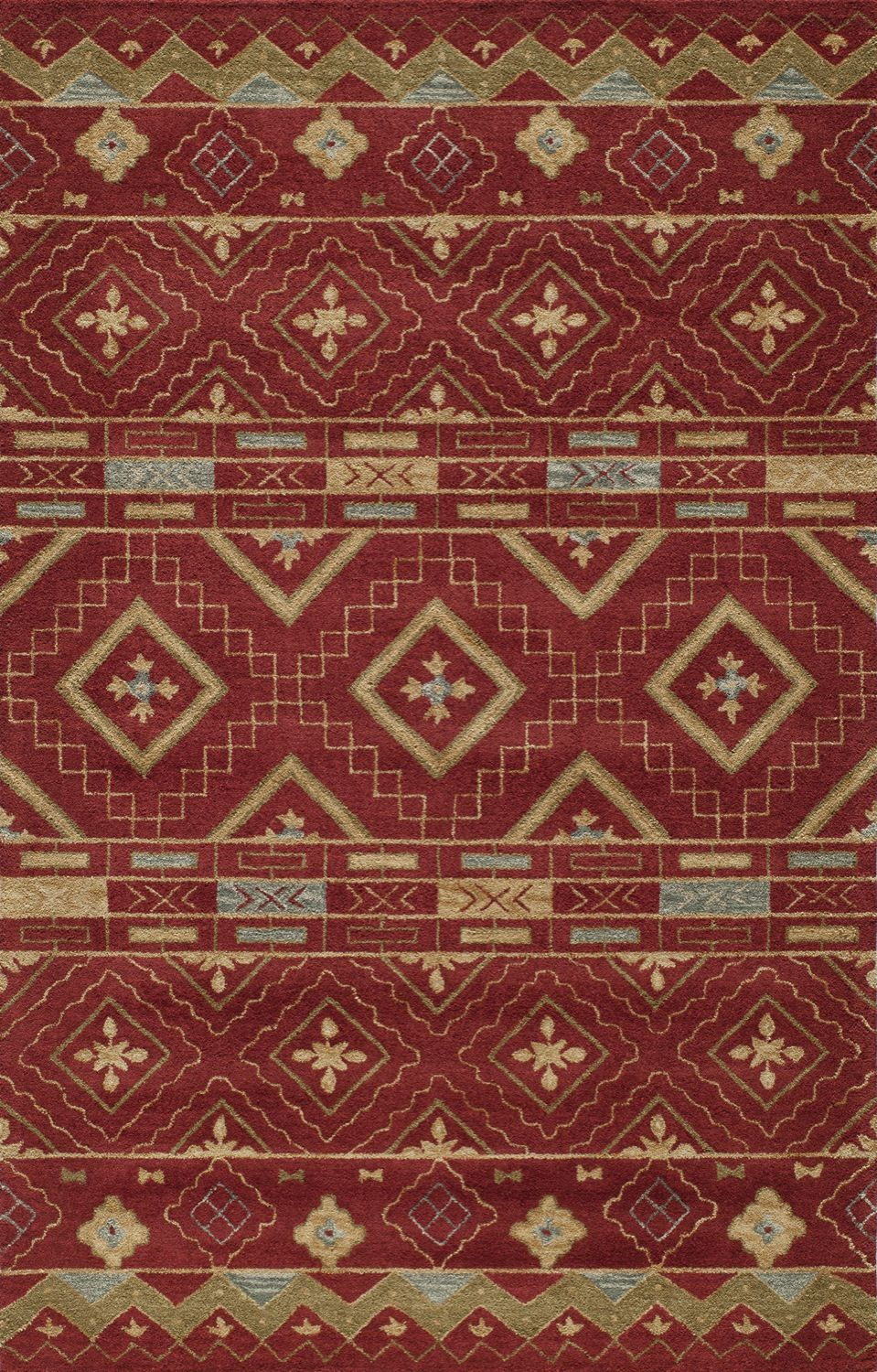 momeni habitat southwestern/lodge area rug collection