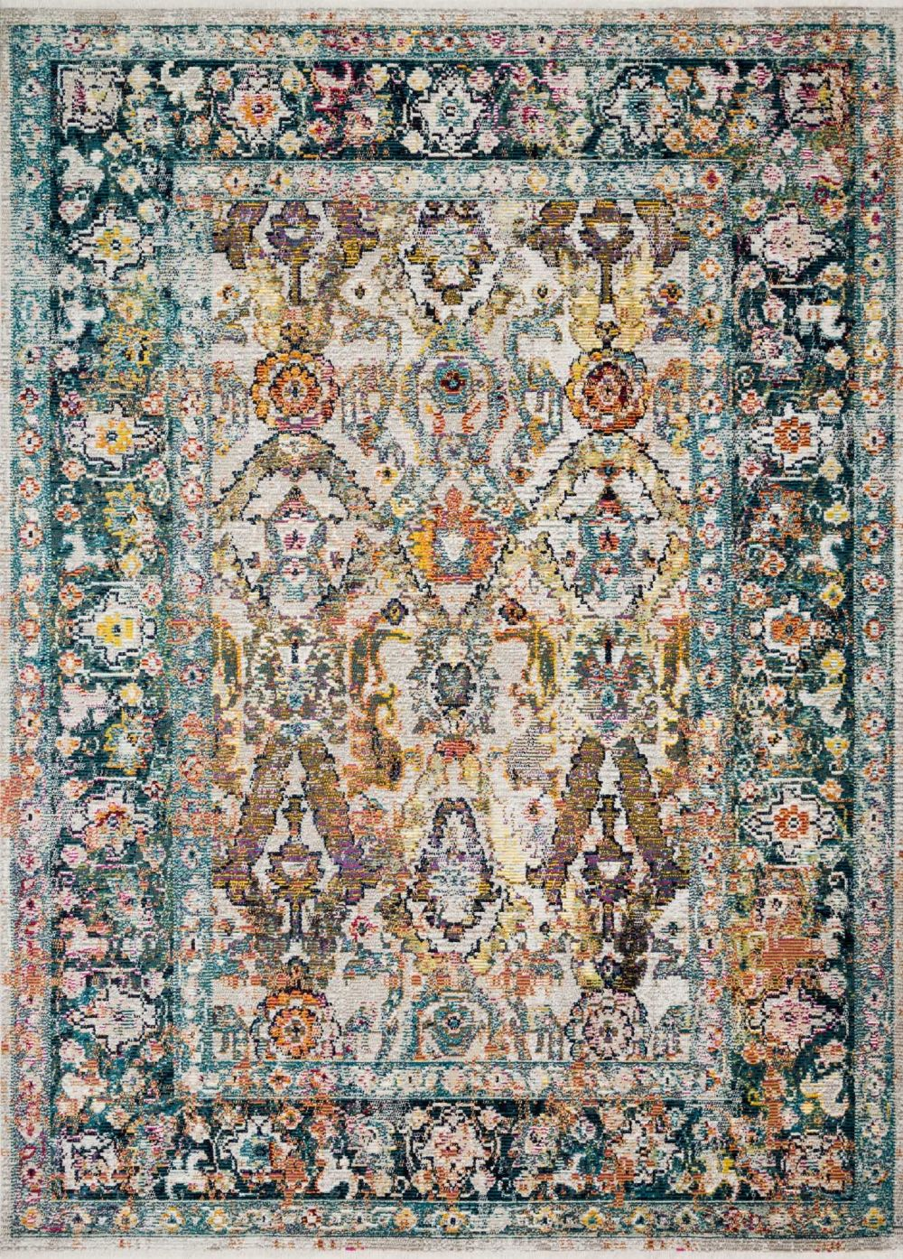 loloi cielo-loloi x justina blakeney transitional area rug collection
