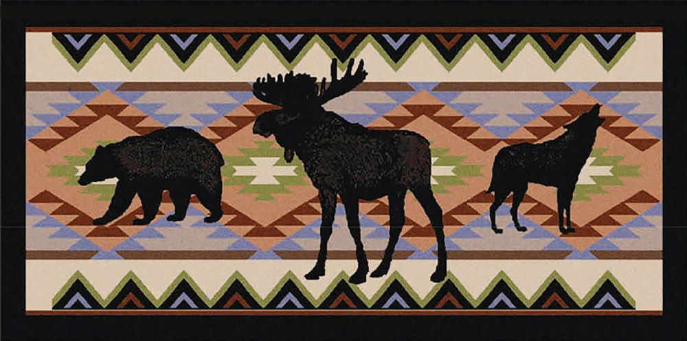 mayberry cozy cabin southwestern/lodge area rug collection