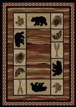 Mayberry Southwestern/Lodge Hearthside Area Rug Collection