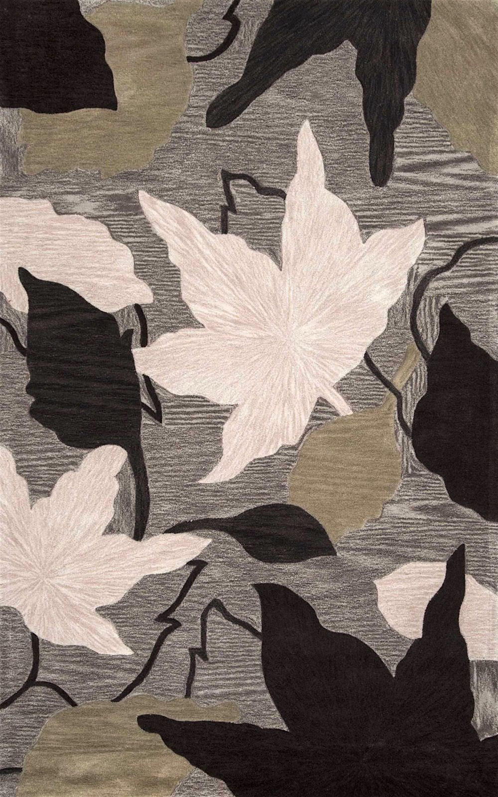 nuloom sherwood leaves country & floral area rug collection