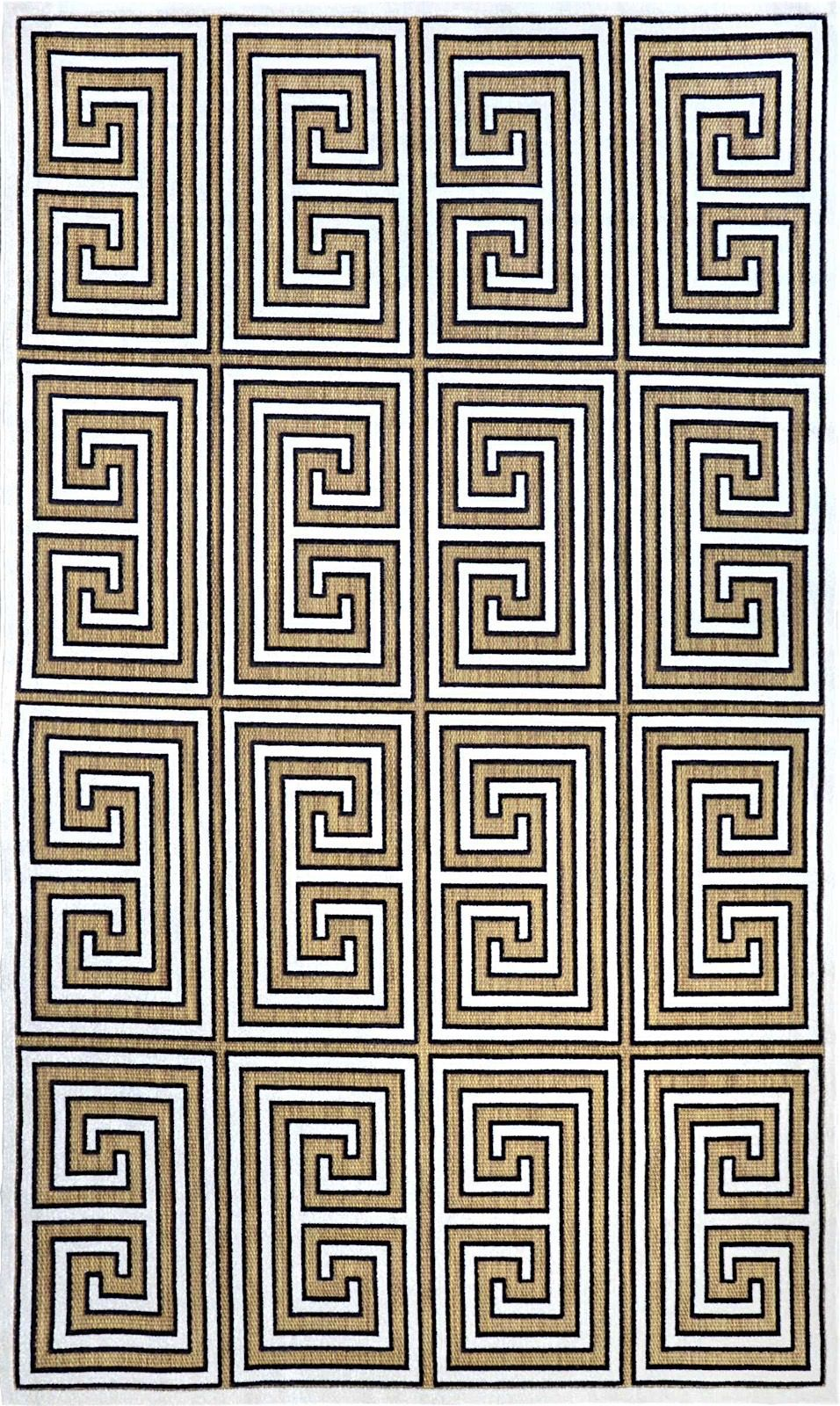 nuloom greek key austin contemporary area rug collection