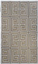 NuLoom Contemporary Greek Key Austin Area Rug Collection