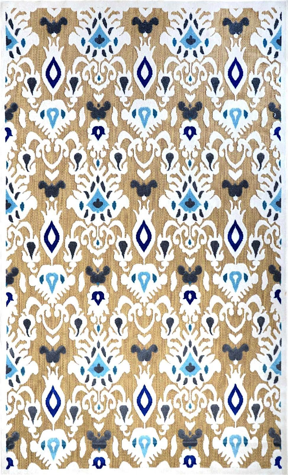 nuloom ikat charlotte contemporary area rug collection