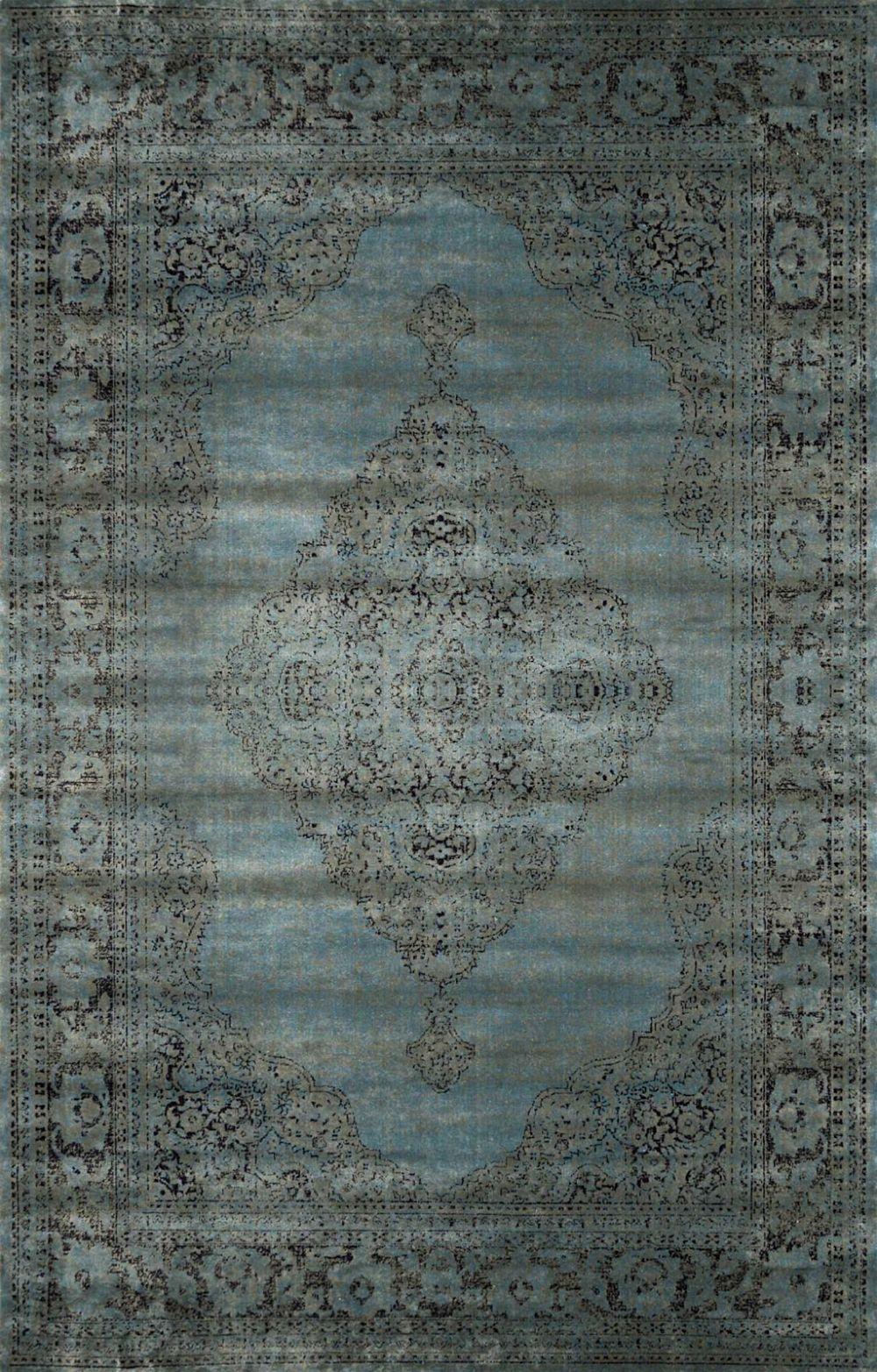 nuloom medallion mable transitional area rug collection