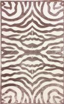 NuLoom Animal Inspirations Viscose Velvet Zebra Area Rug Collection