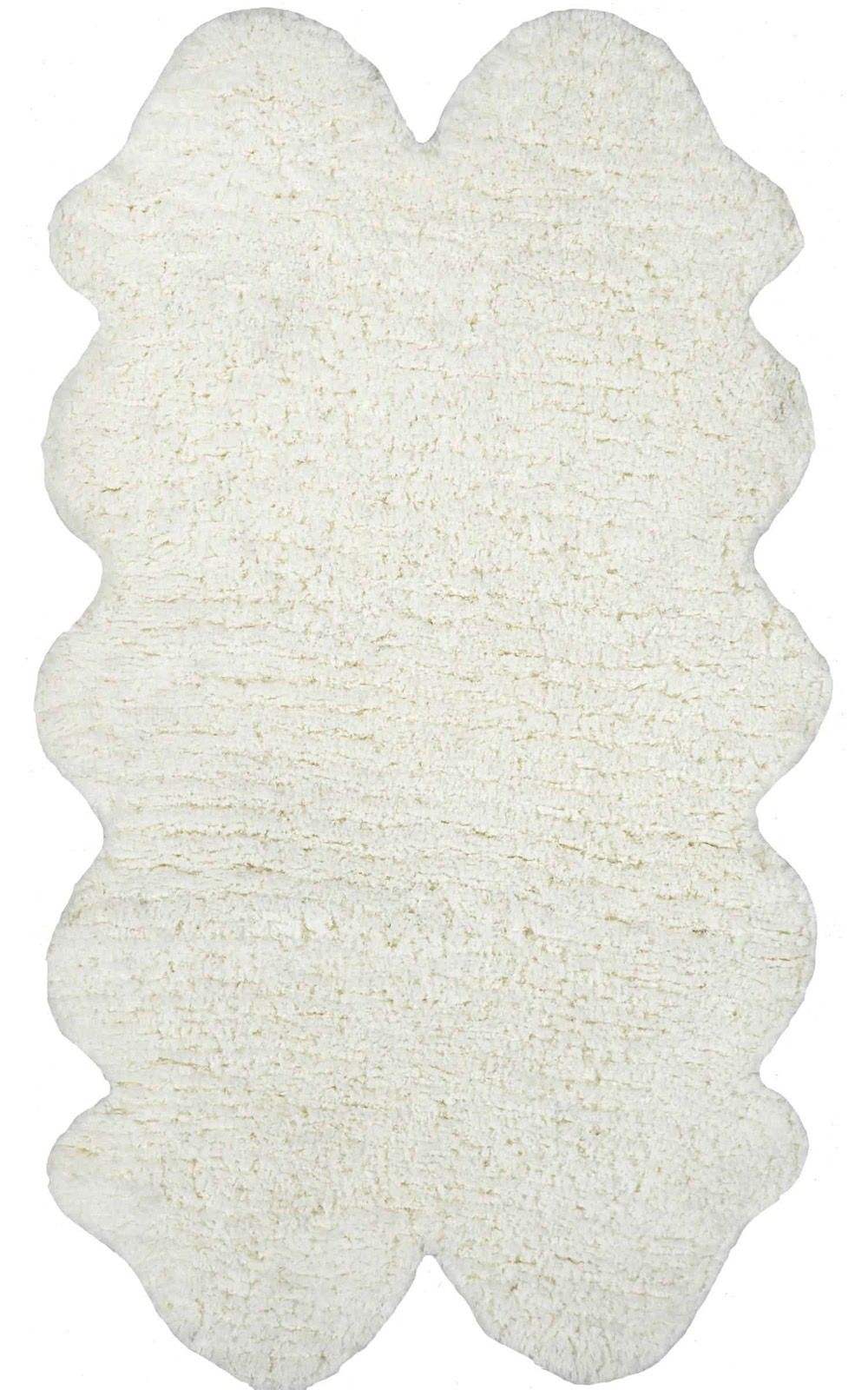 nuloom quarto pelt faux sheepskin animal inspirations area rug collection