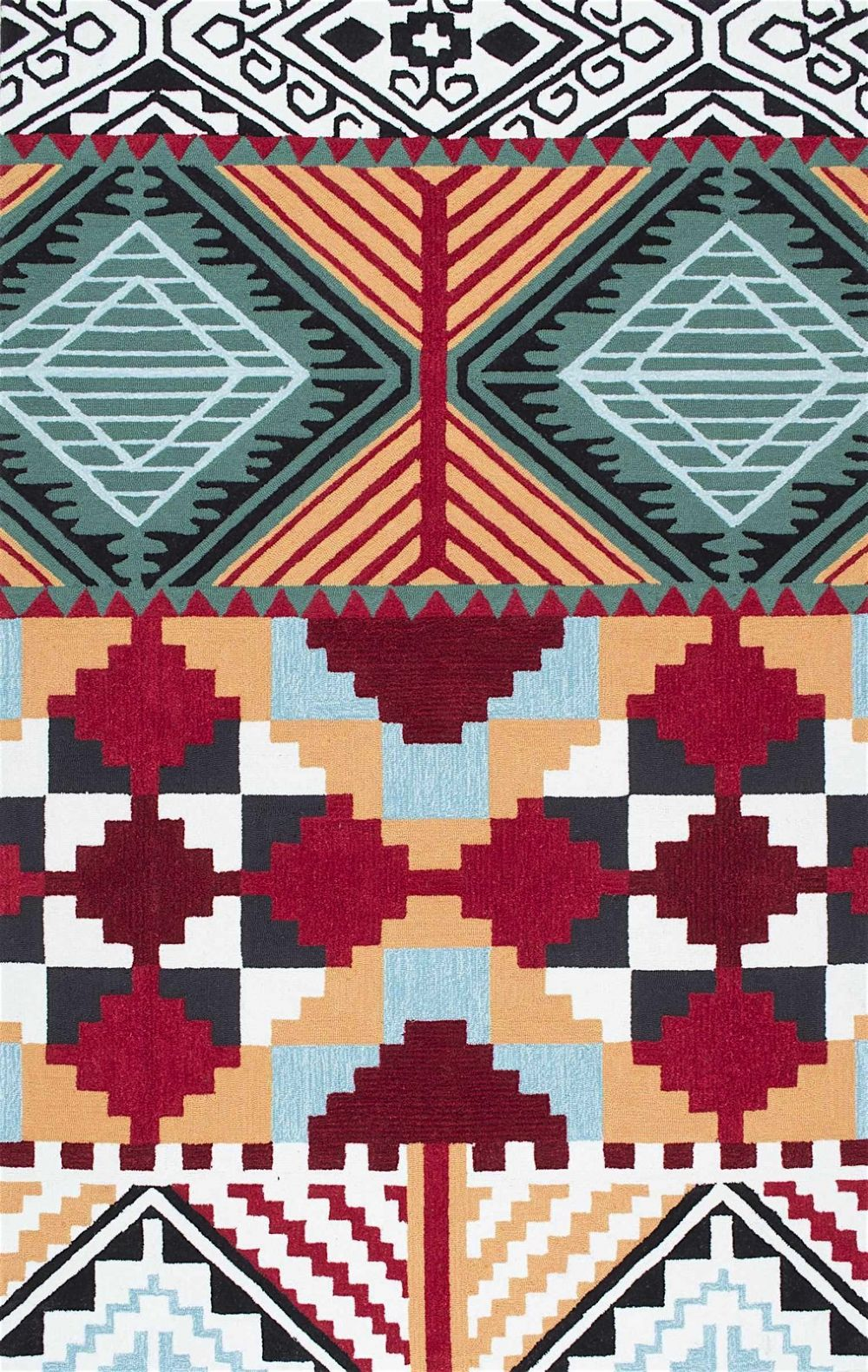 nuloom gussie southwestern/lodge area rug collection
